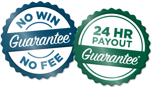 No Win No Fee, 24 Hour Payout Guarantee